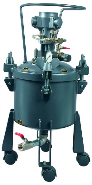 2 1/2 Gallon Dome Type Pressure Feeding Tank