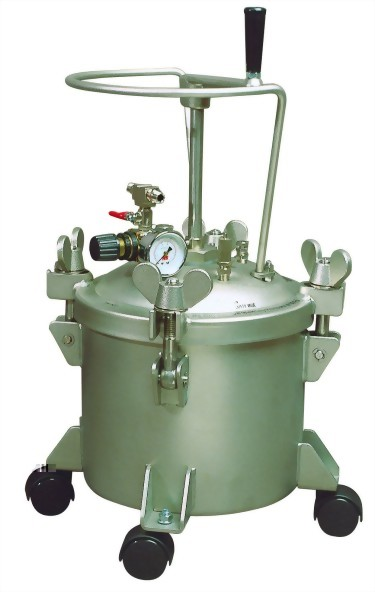 2 1/2 Gallon Manual Type Pressure Feed Paint Tank
