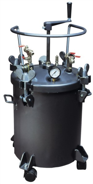 20 Litters Manual Type Pressure Feed Tank