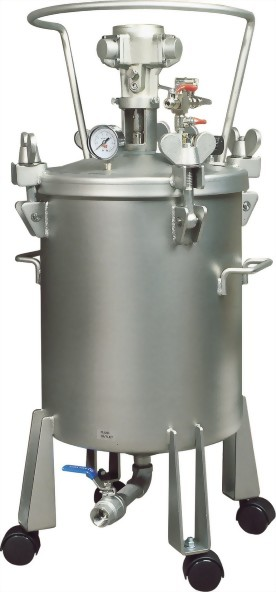 50 Litter Dome Type Pressure Feed Tank