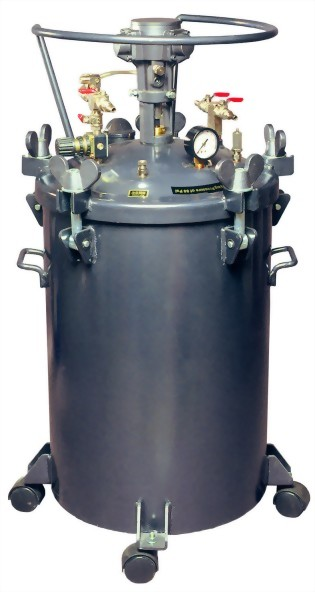 60 LITTERS AUTO TYPE PRESSURE FEED PAINT TANK