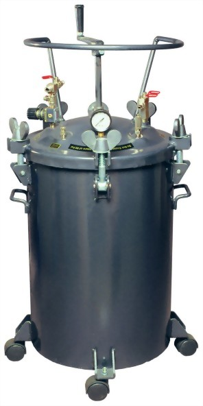 60 LITTERS MANUAL TYPE PRESSURE FEED PAINT TANK