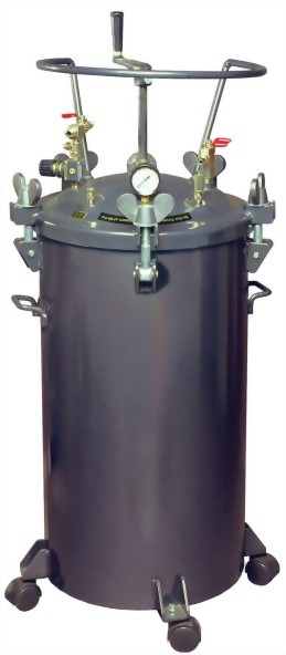 80 LITTERS MANUAL TYPE PRESSURE FEED PAINT TANK