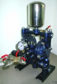 "3/8"" DOUBLE DIAPHRAGM PUMP W/O SPRAY GUN"