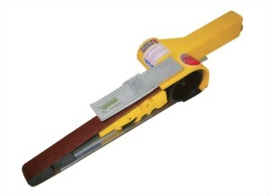 "Air Belt Sander (7/8""X20"") With Iron Pully"
