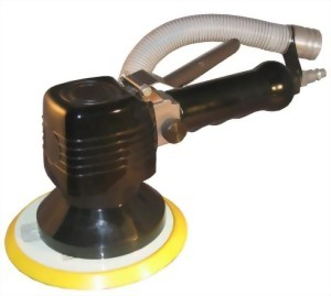 "6"" Central Vacuum Type Dual Action Sander"