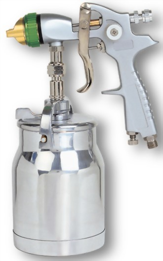 Professional Syphon Type Air Spray Gun With 1;000 cc Cup