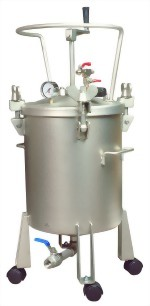 5 Gallon(20L) Dome Type Air Pressure Feed Paint Tank