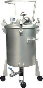 50 Litter Dome Type Pressure Feed Paint Tank