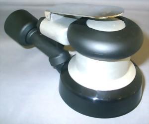 "Industrial Central Vacuum 5mm LP Random Orbital Sander With 3.5"" Pad"