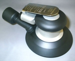 "Industrial Central Vacuum 5mm LP Random Orbital Sander With 5"" Pad"