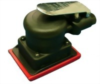 "Composite Industrial Orbital Sander With 3""x4"" Vinyl/Hook Face Pad"