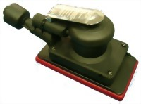 """Composite Industrial Self Vacuum Type Orbital Sander With 3""""x7"""" Vinyl /Hook Face Pad"""
