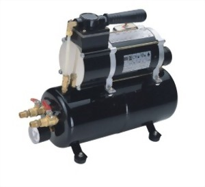 1/8 HP OILLESS MINI COMPRESSOR WITH 2.5 LITTER TANK
