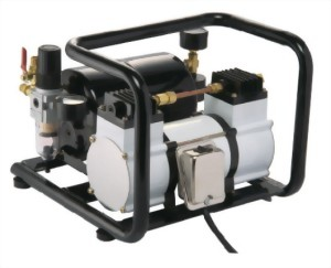 1/6 HP Oilless Mini Air Compressor With 2.5L Tank