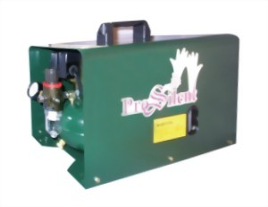 Super Silent 1/4Hp Piston Type Oil Lubricatored Compressor With 1.0L Tank