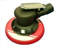 "Composite Industrial Central Vacuum Type Air Random Orbital Sander With 5"" Vinyl/Hook Face Pad"
