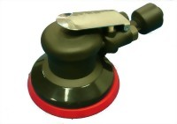 "Composite Industrial Low Profile Self Vacuum Type Random Orbital Sander With 5"" Vinyl/Hook Face Pad"