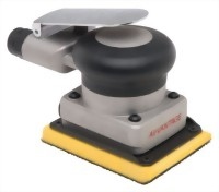 "Industrial Orbital Sander With 3""x4"" Vinyl/ Hook Face Pad"