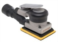 "Industrial Central Vacuum Type Orbital Sander With 3""x4"" Vinyl/ Hook Face Pad"