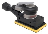 "Industrial Self Vacuum Type Orbital Sander With 3""X5"" Vinyl / Hook Face Pad"