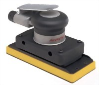 "Industrial Orbital Sander With 3-2/3""x7"" Vinyl Clamp-On /Vinyl/ Hook Face Pad"