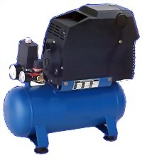 1 HP Oilless Air Compressor With 10 Litters Tank