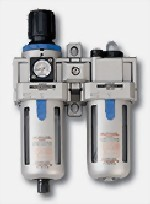 AIR FILTER & REGULATOR + LUBRICATOR