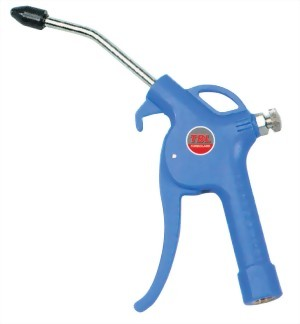 """4"""" Air Blow Gun With Bulit-In Regulator & Safty Nozzle With Brass Inlet"""