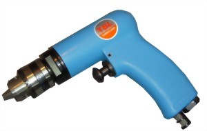 "1/4"" Heavy Duty Compact Air Drill With Silencer(Two Gear)"