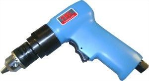 "3/8"" Heavy Duty Air Reversible Drill (1;800 Rpm)"