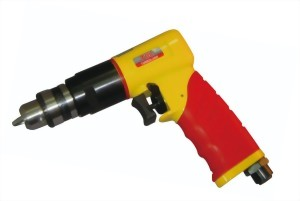 "0.5Hp 3/8""Heavy Duty Reversible Air Drill(Handle Exhaust)"