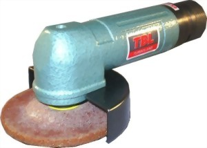 "3"" Industrial Air Angle Grinder With Roll(Lever) Type Throttle"