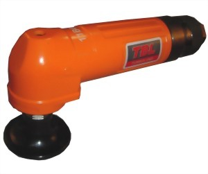 "Industrial Air Angle Sander With 2"" Rubber Pad &Roll (Lever) Type Throttle"