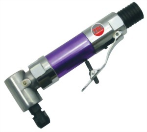 """0.28Hp 1/4""""(6mm) Micro Air Angle Grinder With Silent Hose"""