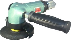 "4"" Industrial Air Angle Grinder With Roll Type Throttle"