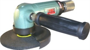 """5"""" Industrial Air Angle Grinder With Roll Type Throttle"""