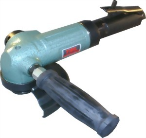 "4"" Industrial Air Angle Grinder With Lever Type Throttle"