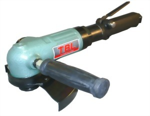"""6"""" Industrial Air Angle Grinder With Safty Lever Type Throttle"""