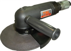 """7"""" Industrial Magnesiun Body Air Angle Grinder With Roll(Lever) Type Throttle & Governor"""