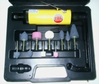 15 Pcs Medium Air Die Grinder Kit