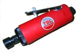 "1/4""(6MM) Heavy Duty Medium Air Die Grinder With Rubber Boot"