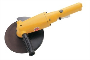 """7"""" Heavy Duty Lever Type  Throttle Air Angle Grinder"""
