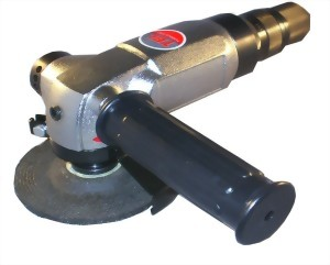 "4"" Industrial Air Angle Grinder (Roll Type Throttle)"