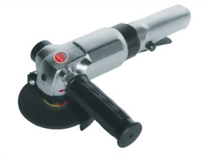 """4"""" Inustrial Air Angle Grinder With Lever Type Throttle"""