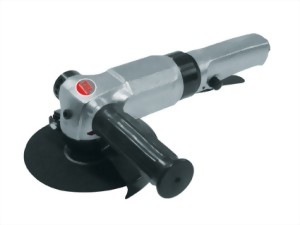 "5"" Industrial Air Angle Grinder With Lever Type Throttle"