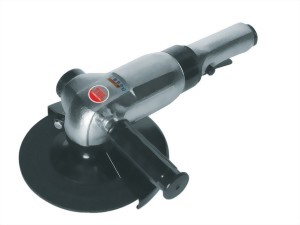 """7"""" Industrial Air Angle Grinder With Lever Type Throttle"""