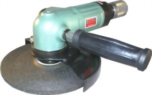 "7"" Industrial Air Angle Grinder With Roll Type Throttle"