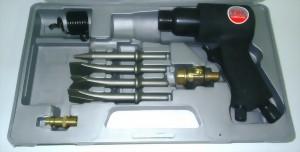 8Pcs 150mm Hex./Round Shank Air Hammer  Kit