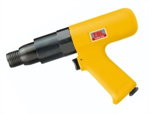 Vibration-Damped 250mm Hex.(Round) Shank Air Hammer